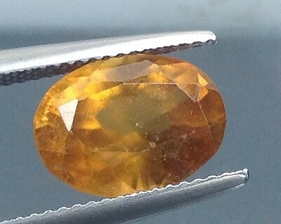 4.70Cts Top Lustrous Natural Hessonite Garnet Gems Oval (3450)