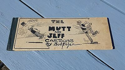 Rare The Mutt And Jeff Cartoons By Bud Fisher Comic Strip Hardcover Book