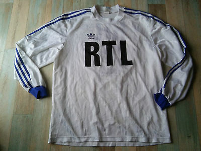 Maillot FOOT ADIDAS COUPE DE FRANCE RTL N°2 TAILLE/XL/D7 TBE
