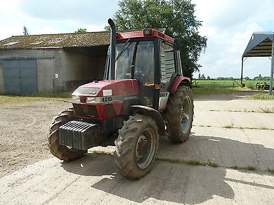 Case 4210 4wd Tractor great condition Creeper gearbox fitted. New Clutch.