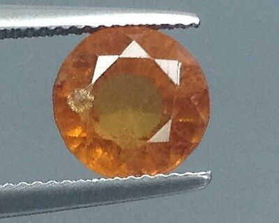 4.40Cts Top Lustrous Natural Hessonite Garnet Gems Round (3431)