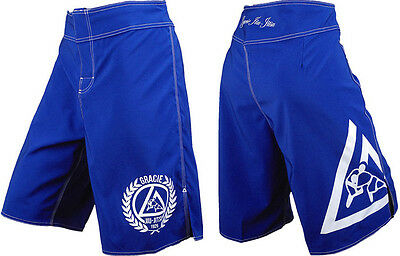Gracie Jiu-Jitsu Royal Fight Shorts Size 32