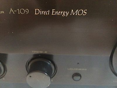 Pioneer Stereo Amplifier A-109
