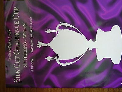 Rugby League Challenge Cup Final Programme 1989