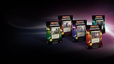 Magic the Gathering Commander 2016 Decks Set - 5 decks ENGLISH