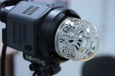 Bowens QUADX HEAD E11 modelling bulb Direct from Bowens and fully refurbished .