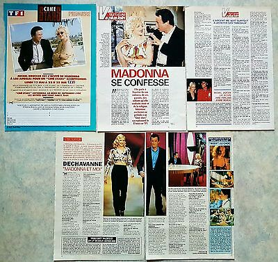 MADONNA 90's clippings lot de presse  magazines EROTICA DICK TRACY BEDTIME cover