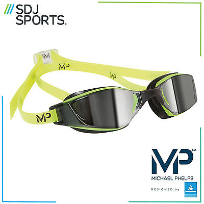 Michael Phelps Mp Xceed Mirror Competition Racing Swimming Goggles With Anti-Fog