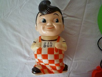 Vintage Shoney's Big Boy Bank  Colorful Collectible Frischs Bobs 1970's