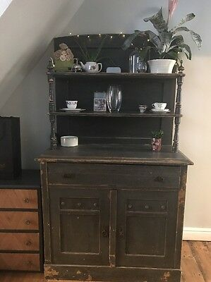 Antique vintage Welsh Dresser Kitchen Cabinet