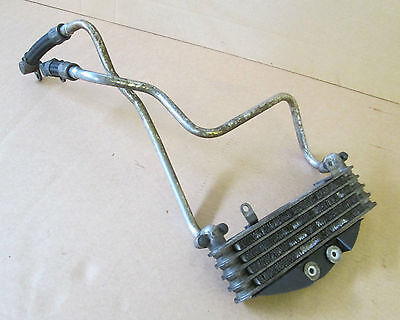Honda VTR1000 SP1 Complete oil cooler assembly with pipes hoses