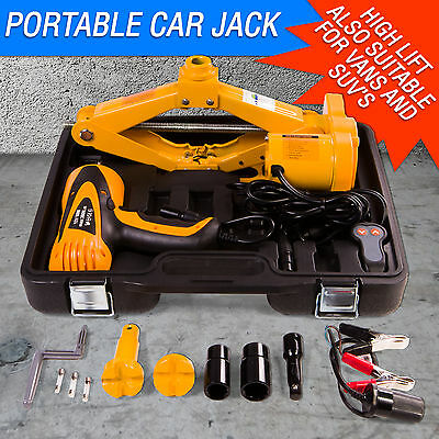 12v Impact Wrench & Electric Battery Jack Kit for Cars also for SUV's & Vans