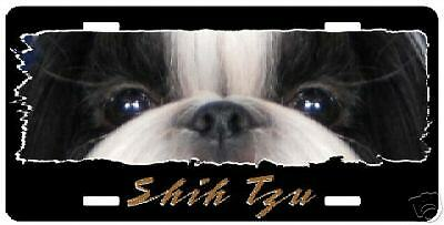 """Shih Tzu # 3   """" The Eyes Have It """"  License Plate"""