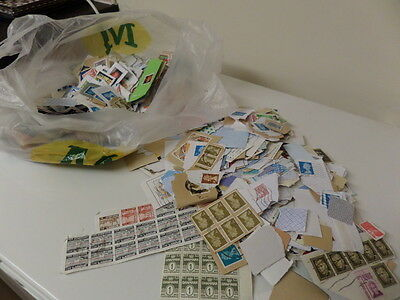 A Large Bundle Of Various Stamps From All Around The World Set 2