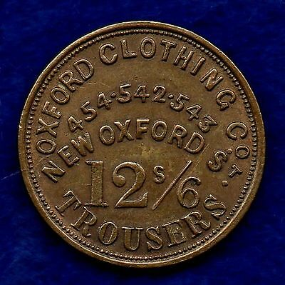 Unofficial Farthing, 19th Century, London, Oxford Clothing Co. (Ref. c5137)