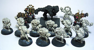 X15 Blood Bowl CHAOS ALL STARS Team includes Star Player + Minotaur + Mutants