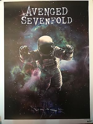 Avenged Sevenfold The Stage Limited Edition 18x24 Lithograph 463/500