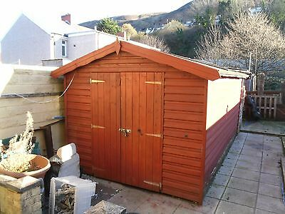 Garden shed / workshop 8 x 14 man cave tool shed
