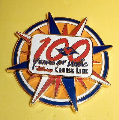 DCL pin DISNEY CRUISE LINE - 100 YEARS OF MAGIC - SPINNER
