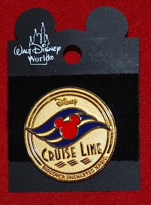 DCL pin DISNEY CRUISE LINE - DISCOVER UNCHARTED MAGIC 3D - NEW ON CARD