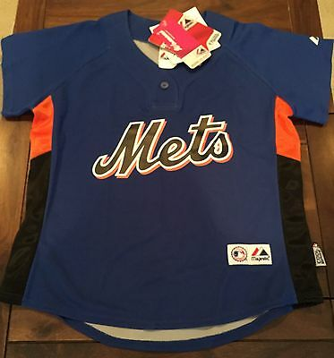 New York Mets Majestic MLB Women's Jersey Size S