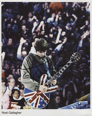 Noel Gallagher (Oasis) Signed 8 x 10 Photo Genuine In Person