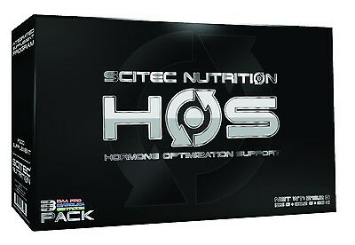 HOS Hormon Optimisation 250 Kapseln - Tribulus Zink Testosteron Scitec Nutrition