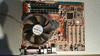 Abit AS8-V Motherboard with Pentium 4 Processor 3400 MHZ and a cooler