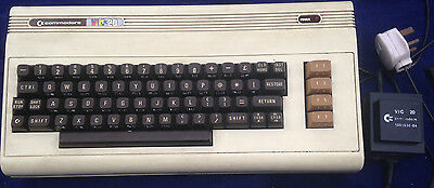 Commodore Vic 20 Vintage Computer | Spares / Repairs Untested