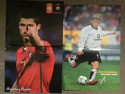 Collection of Football Posters + 2 NBA