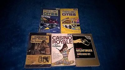RARE ~ vintage Ian Fleming ~ Thrilling cities /James Bond