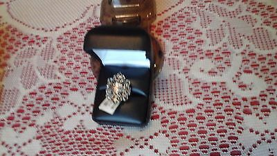 New Womans Harley Davidson Sterling Silver Filigree Ring, Size 9, Check Pictures