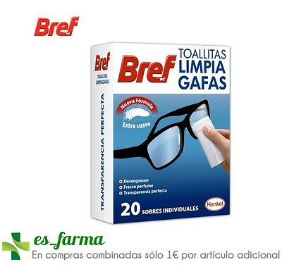Wipes Clean Sunglasses Bref 20 Uds. Glass Synthetic Materials Mirrors Mobile