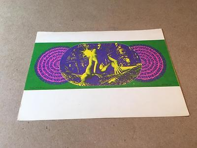FD 99 Postcard --  1967 BLUE CHEER -- FLAMIN GROOVIES -- Family Dog