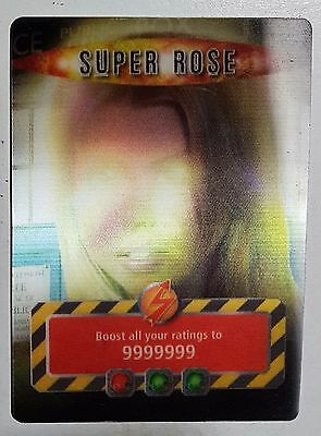 "*ultra Rare* Doctor Who Battles In Time ""super Rose"" Card (2006)"