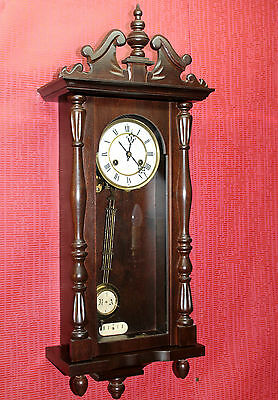 Old-Wall-Clock- Regulator Vienna clock ***JUNGHANS***