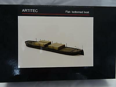 Artitec 50102 Flat Bottomed Boat Kit Resin & Metal Parts 1:87 Scale