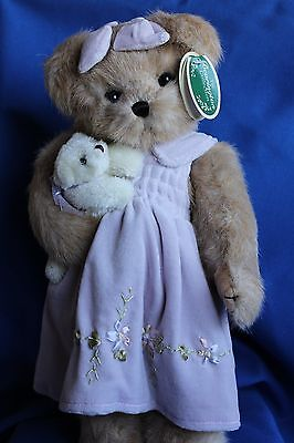 Bearington Bear Carrie And Teddy 1556 With Free Stand