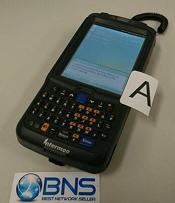Intermec CN50 QWERTY 2D Barcode Scanner Handheld Mobile with Battery
