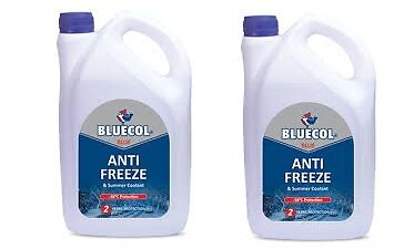 2 X Bluecol 2 Year Antifreeze & Summer Coolant 5L Litre - Bla005