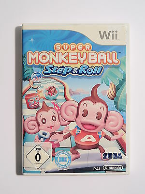 Super Monkey Ball Step & Roll für Nintendo Wii