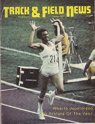 Track and Field News January 1977 Annual Edition