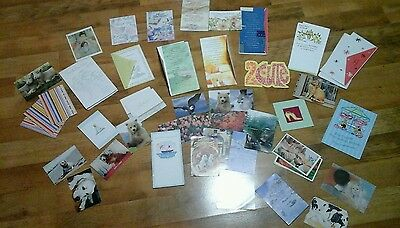greeting cards mixed lot