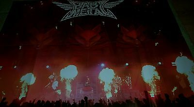 Large BABYMETAL / ASKING ALEXANRIA POSTER  METAL HAMMER MAGAZINE christmas gifts