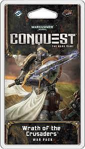 Warhammer 40k Conquest LCG Card Game Wrath of the Crusaders War Pack BNIB