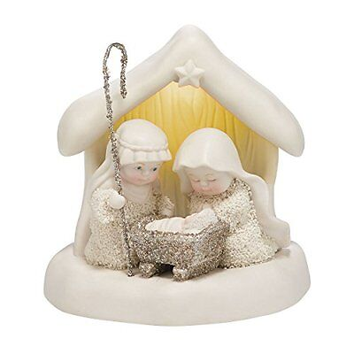 Snowbabies Dream Collection Beneath The Christmas Star Figurine, 4.65-Inch