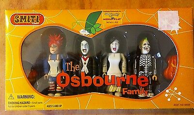The Osbournes Smiti 00006 2002. Family Figure Set.