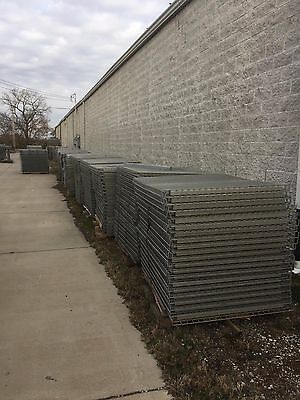 "Used 44"" D X 52"" W Wire Decking Free Local Pickup Or Can Ship Via Freight"
