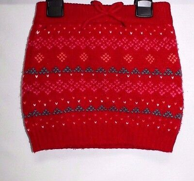 Girls' Kids' Patterned Knitted Warm Winter Skirt Size 2-3 Years #64