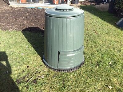 2 Green Compost Bins.  Ideal for Home Composting